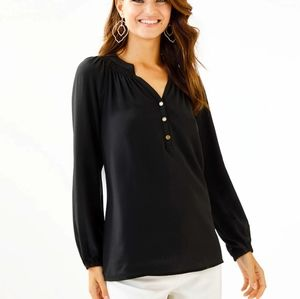 Lilly Pulitzer Elsa top onyx/black